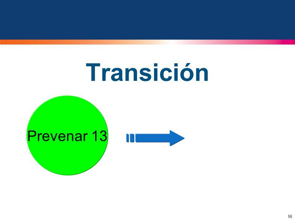 96 Transición Prevenar Prevenar 13