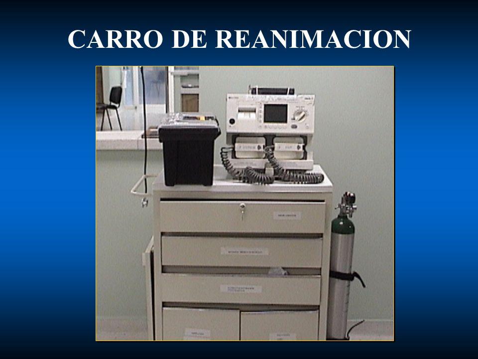 CARRO DE REANIMACION