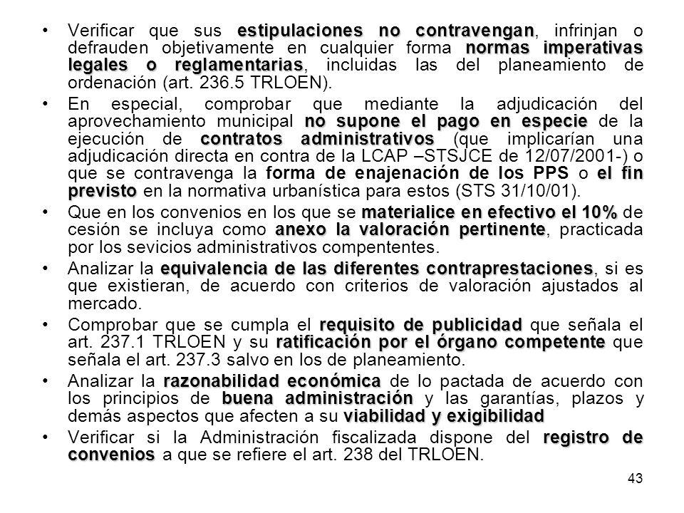43 estipulaciones no contravengan normas imperativas legales o reglamentariasVerificar que sus estipulaciones no contravengan, infrinjan o defrauden o