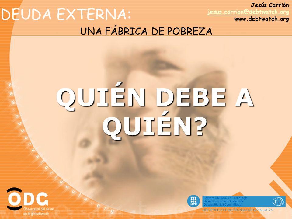 CUBA ARGELIA RUSIA ANGOLA CHINA EGIPTO MÉXICO PERÚ ARGENTINA INDONESIA Los principales deudores 4.