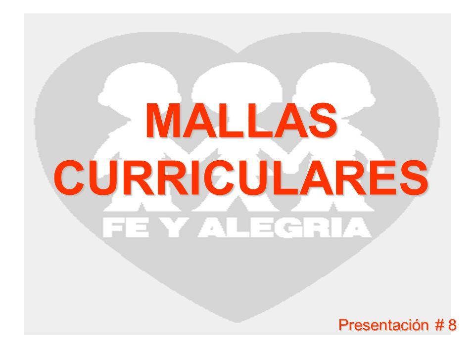 MALLAS CURRICULARES Presentación # 8