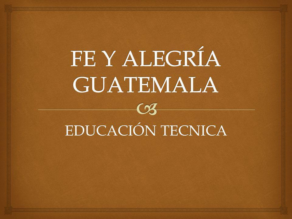 EDUCACIÓN TECNICA