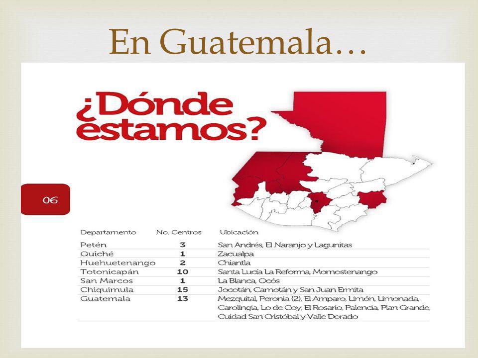 En Guatemala…