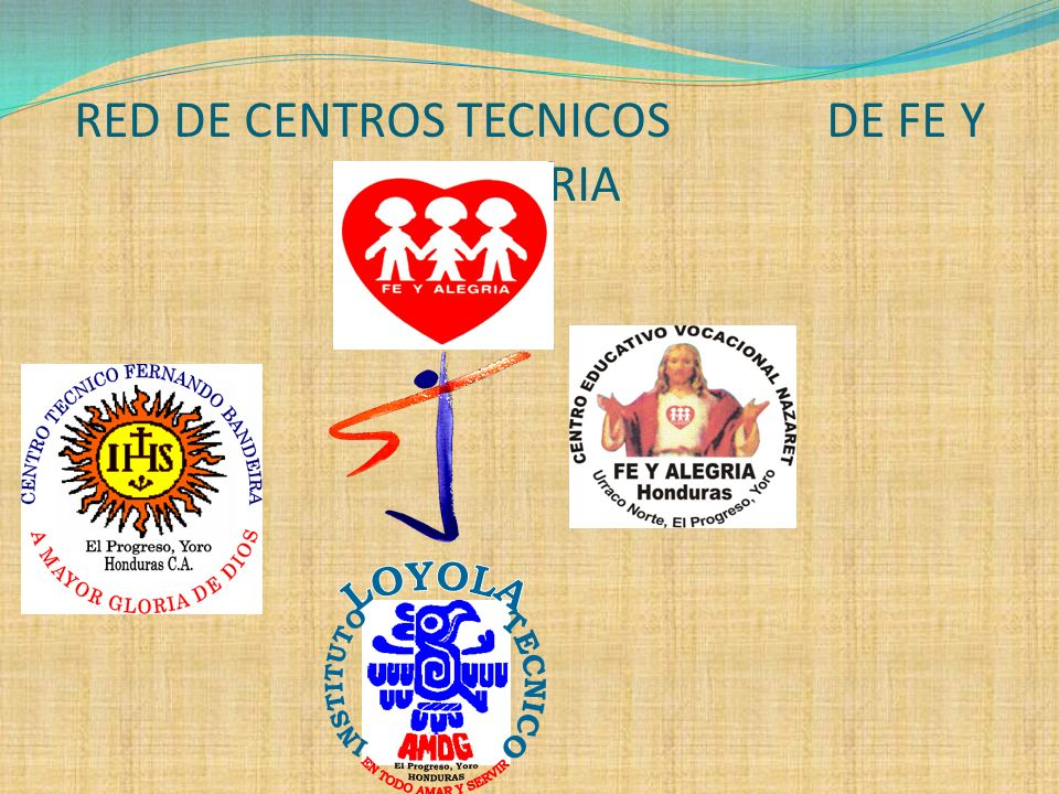 RED DE CENTROS TECNICOS DE FE Y ALEGRIA