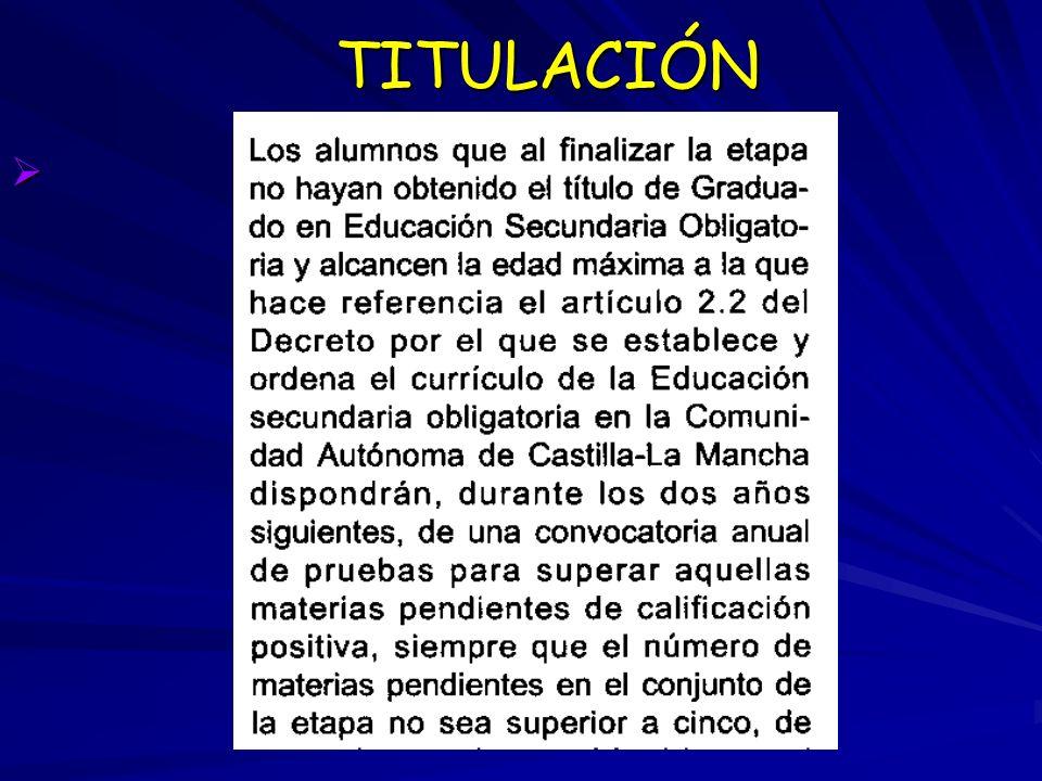 TITULACIÓN TITULACIÓN