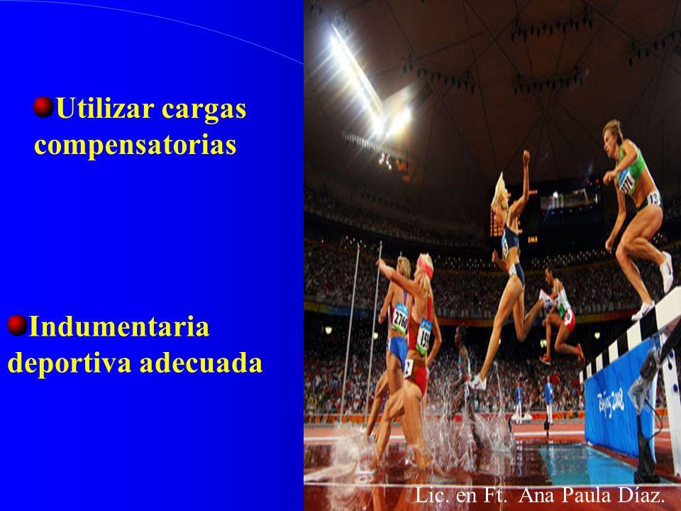 Medios pedagógicos Aplicación de los principios del entrenamiento. Restablecimiento de las cargas de trabajo Lic. en Ft. Ana Paula Díaz.