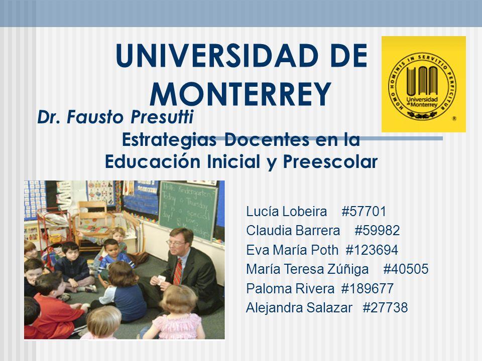 Introducción En la siguiente presentacion se anexa una serie de actividades realizadas durante dos semanas en el curso de ESTRATEGIAS DOCENTES PARA EDUCACION INICIAL Y PREESCOLAR.