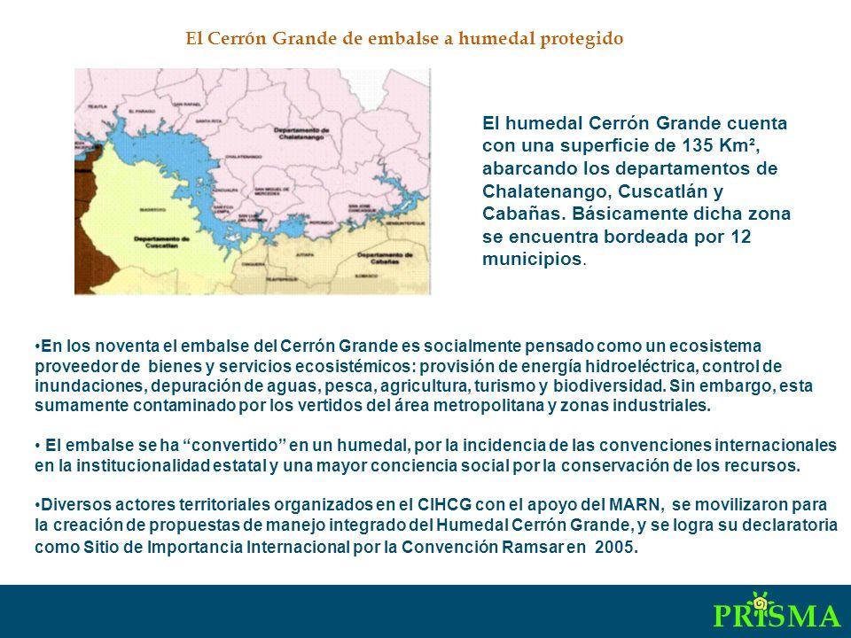 Red de actores sociales: ribera norte del Humedal Cerrón Grande