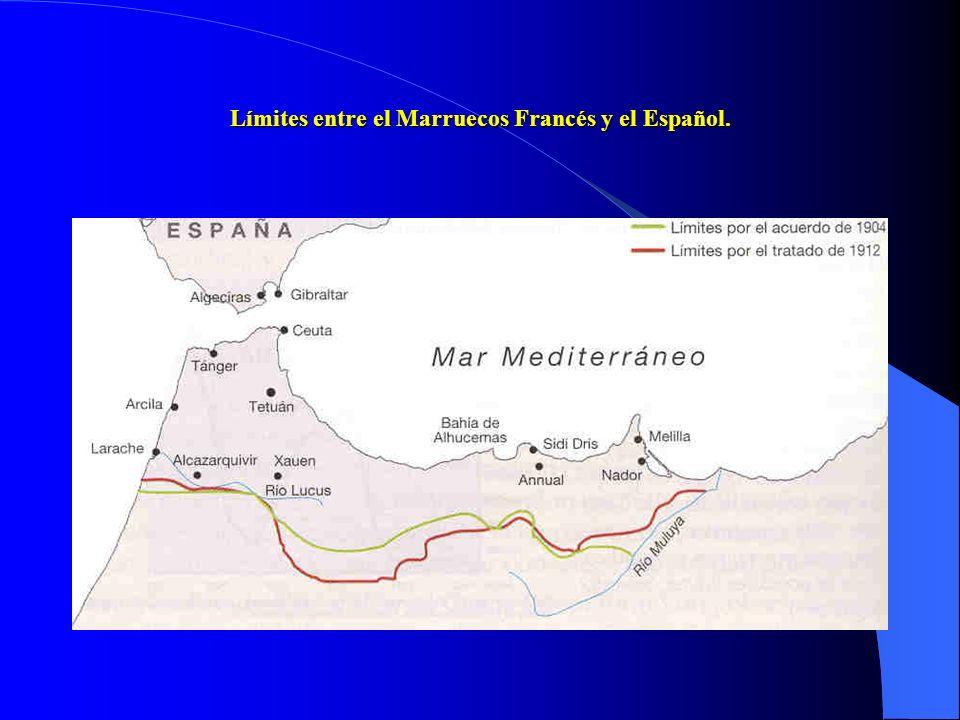 c) Los inicios de la aventura marroquí. España se plantea ocupar parte de Marruecos en un momento en que los países europeos se han repartido el conti