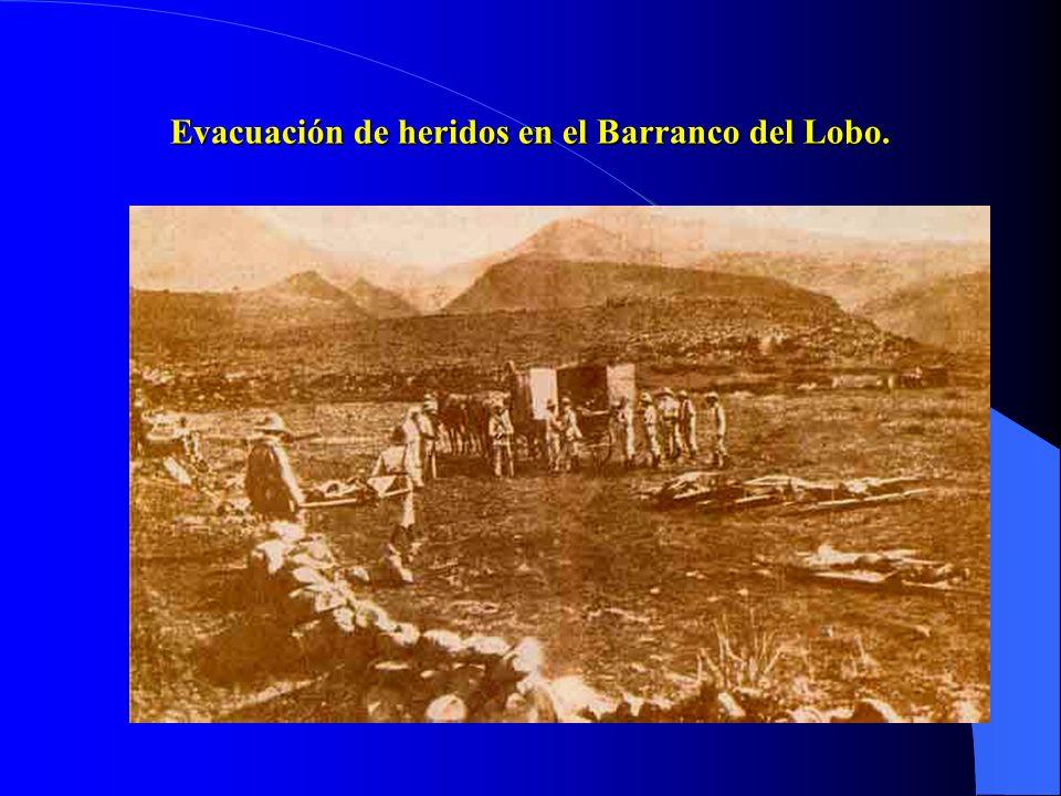 Días después se produce la derrota de los españoles en el Barranco del Lobo ( 1.200 bajas), coincidiendo con una huelga general en Barcelona. El paro