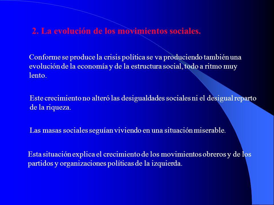 f) f) El Gobierno de Canalejas, último intento regeneracionista (1910-1912). Tras un breve gobierno del liberal Moret, que sustituye a Maura tras la S