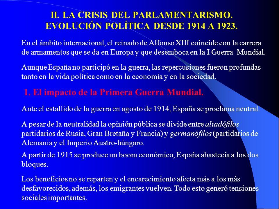 b) La fundación de la C.N.T. El sindicalismo anarquista tendrá mucho peso en Cataluña, ya en 1907 habían creado Solidaritat Obrera. Desde Solidaritat