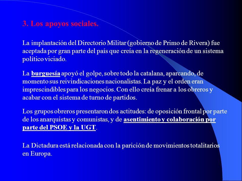 Manifiesto del golpe de Estado de Primo de Rivera (13 de septiembre de 1923). Al país y al ejército españoles: Ha llegado para nosotros el momento más