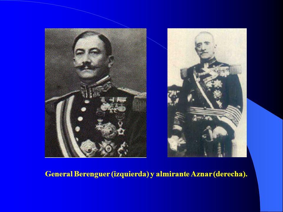 Tras la dimisión de Primo de Rivera, Alfonso XIII encarga al general Berenguer la formación de un gobierno que prepare el paso hacia la vida parlament