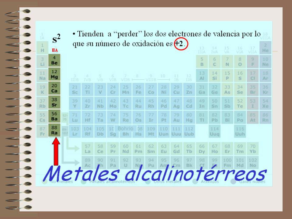 METALES-METALOIDES-NO METALES