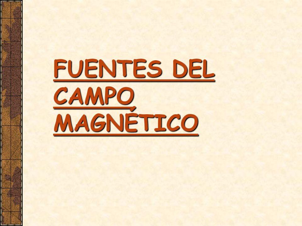 FUENTES DEL CAMPO MAGNÉTICO