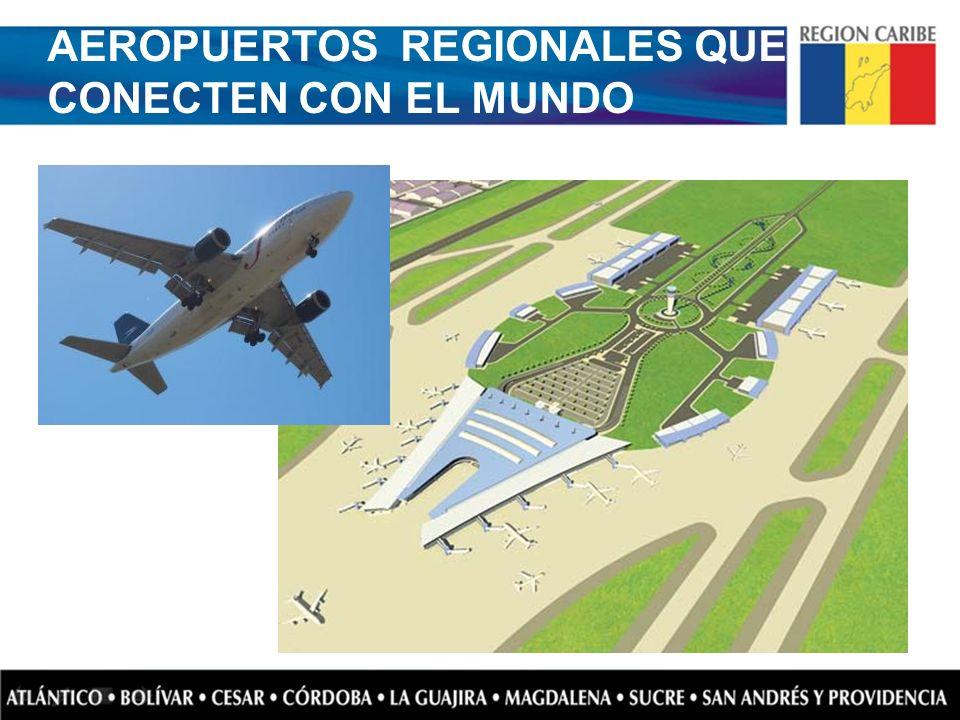 AEROPUERTOS REGIONALES QUE CONECTEN CON EL MUNDO