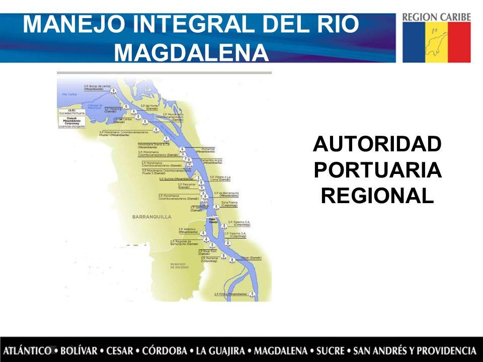 MANEJO INTEGRAL DEL RIO MAGDALENA AUTORIDAD PORTUARIA REGIONAL