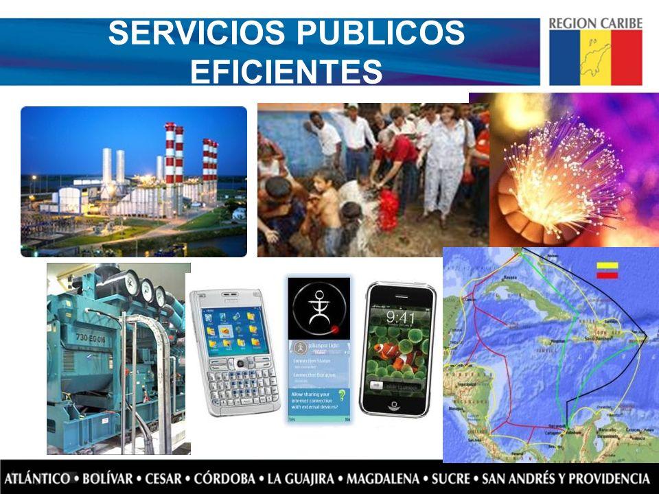 SERVICIOS PUBLICOS EFICIENTES