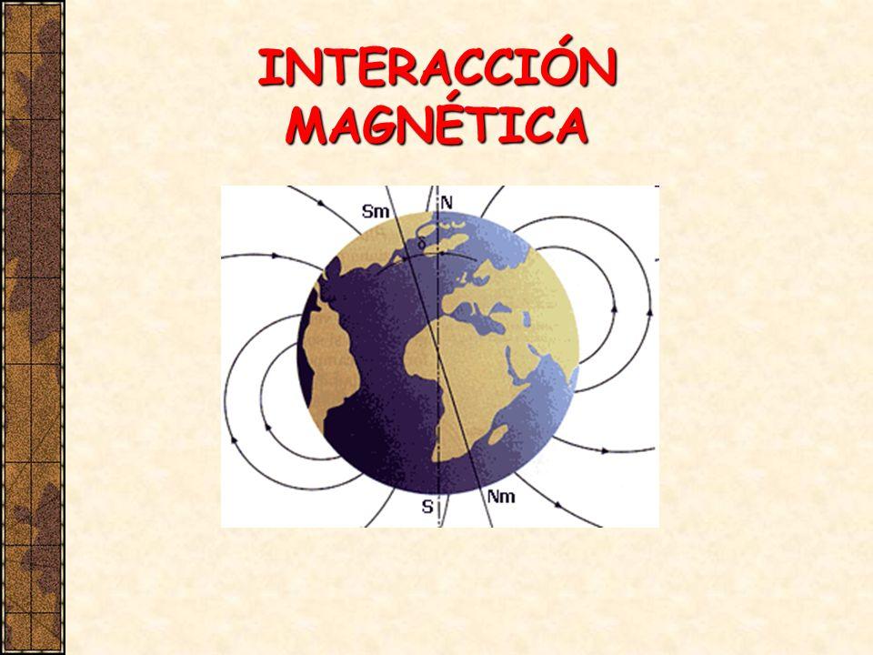 Introducción Los griegos sabían que la magnetita tenía la propiedad de atraer piezas de hierro En el siglo XII se utilizaban los imanes para la navegación 1269: Maricourt descubre que una aguja en libertad en un imán esférico se orienta a lo largo de líneas que pasan por puntos extremos (polos del imán) 1600: Gilbert descubre que la Tierra es un imán natural