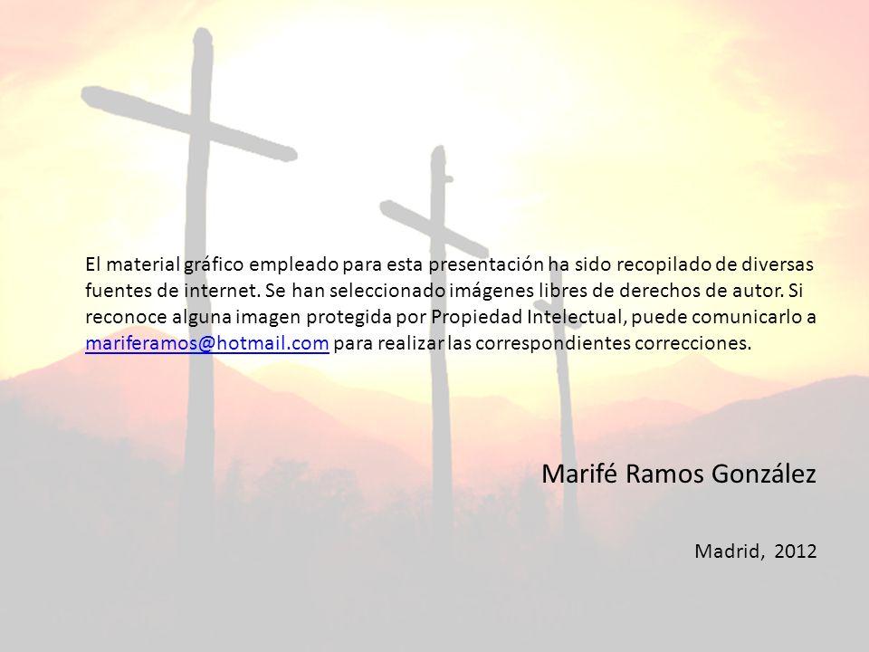 El material gráfico empleado para esta presentación ha sido recopilado de diversas fuentes de internet. Se han seleccionado imágenes libres de derecho