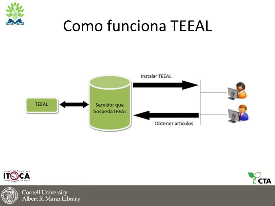 Como funciona TEEAL