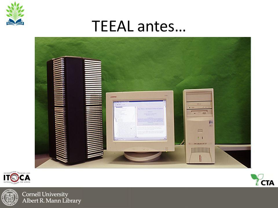 TEEAL antes…