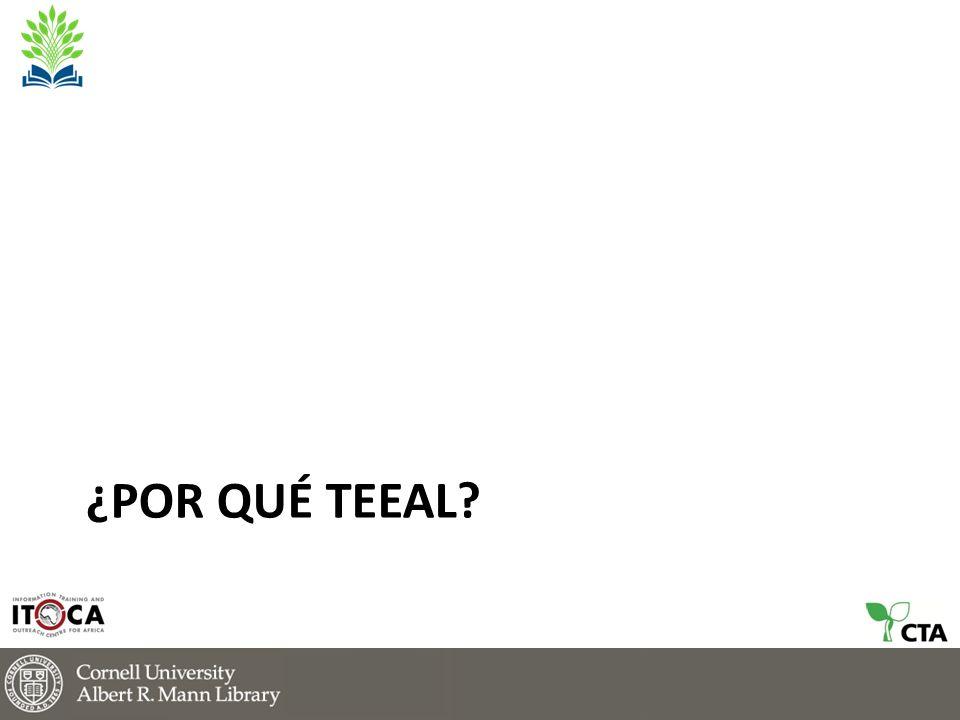 Mapa de Instituciones con TEEAL