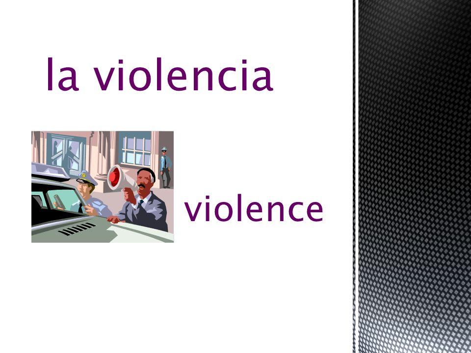 victim la víctima