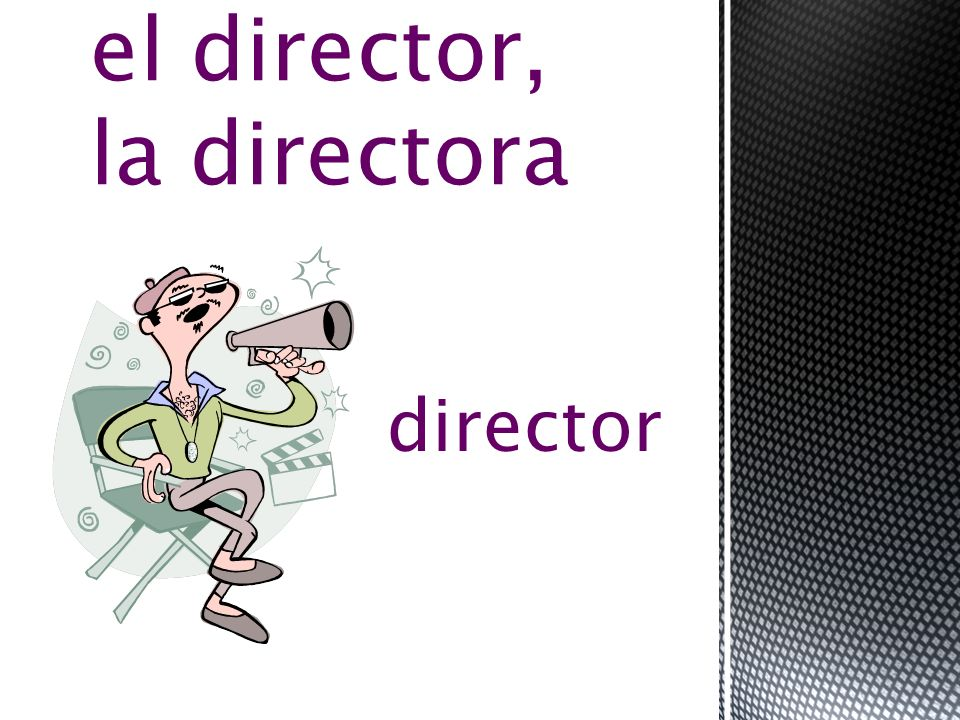 film direction la dirección