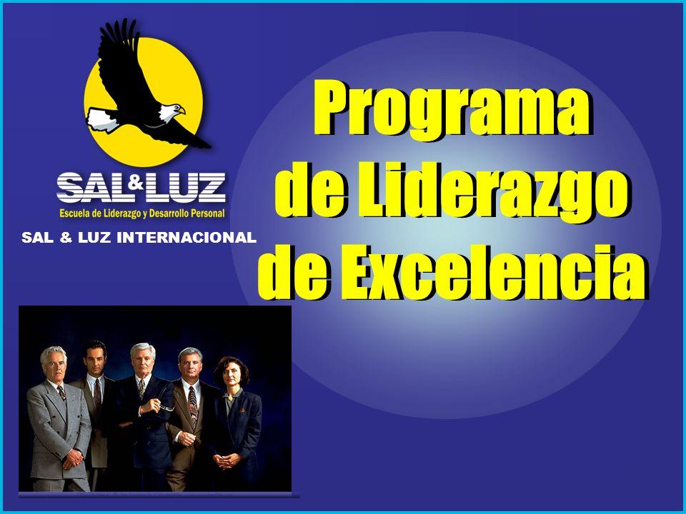 Escuela de Liderazgo Sal & Luz Existe mucha oferta de todo tipo de capacitación y entrenamiento