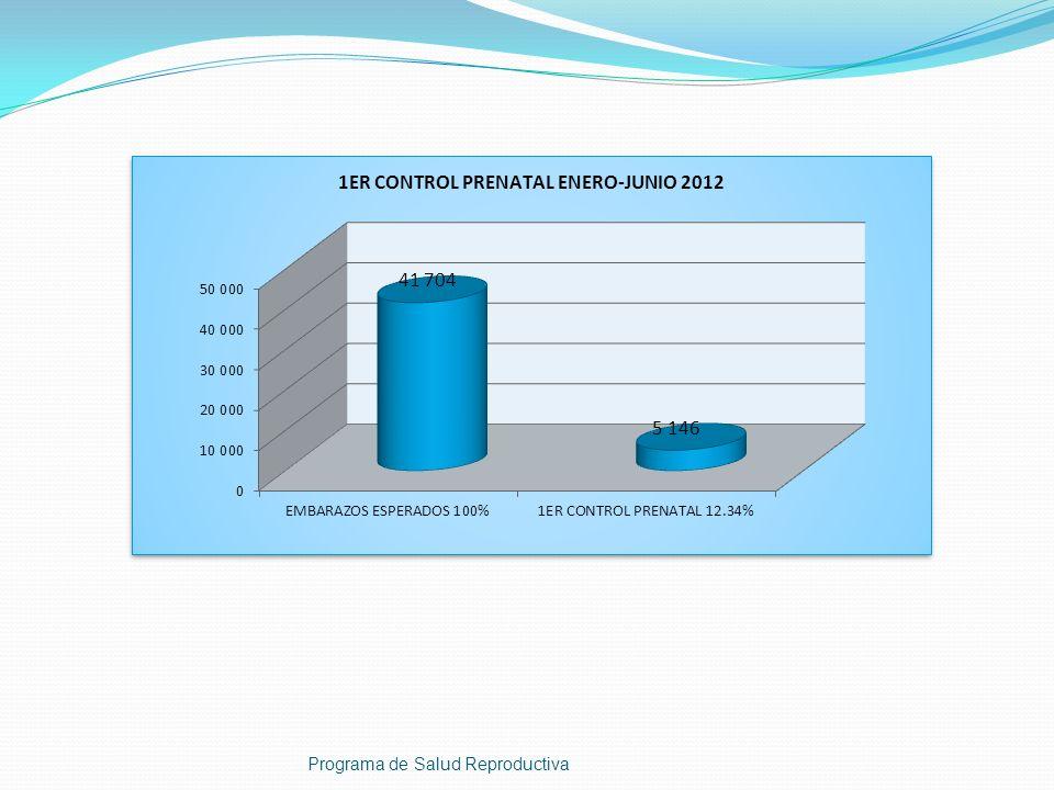 4 1 1 CASOS DE VIH POSITIVOS POR MUNICIPIO, HUEHUETENANGO 2012 2 1 1 Programa de Salud Reproductiva 1 1