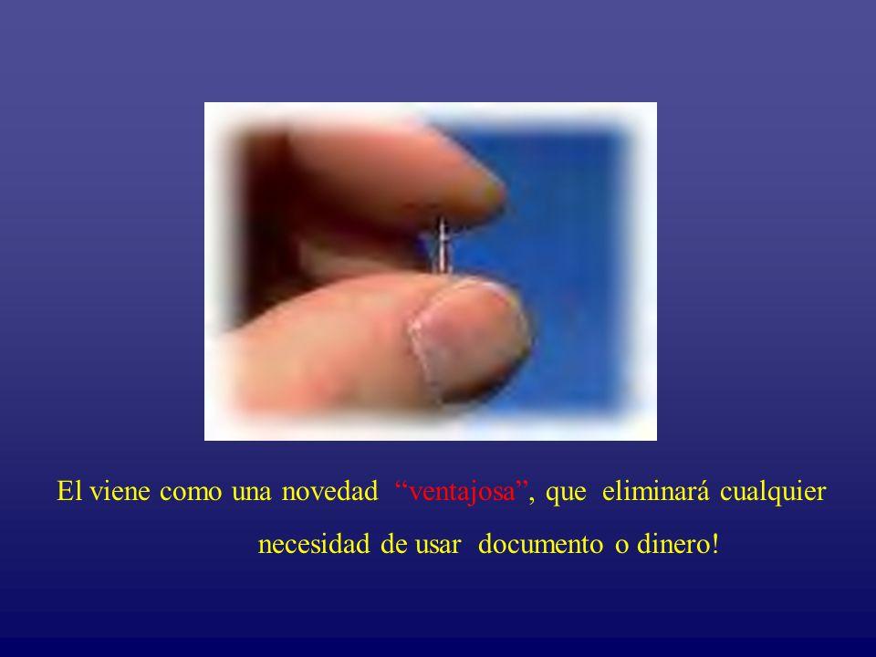 Novedad Ventajosa El viene como una novedad ventajosa, que eliminará cualquier necesidad de usar documento o dinero!