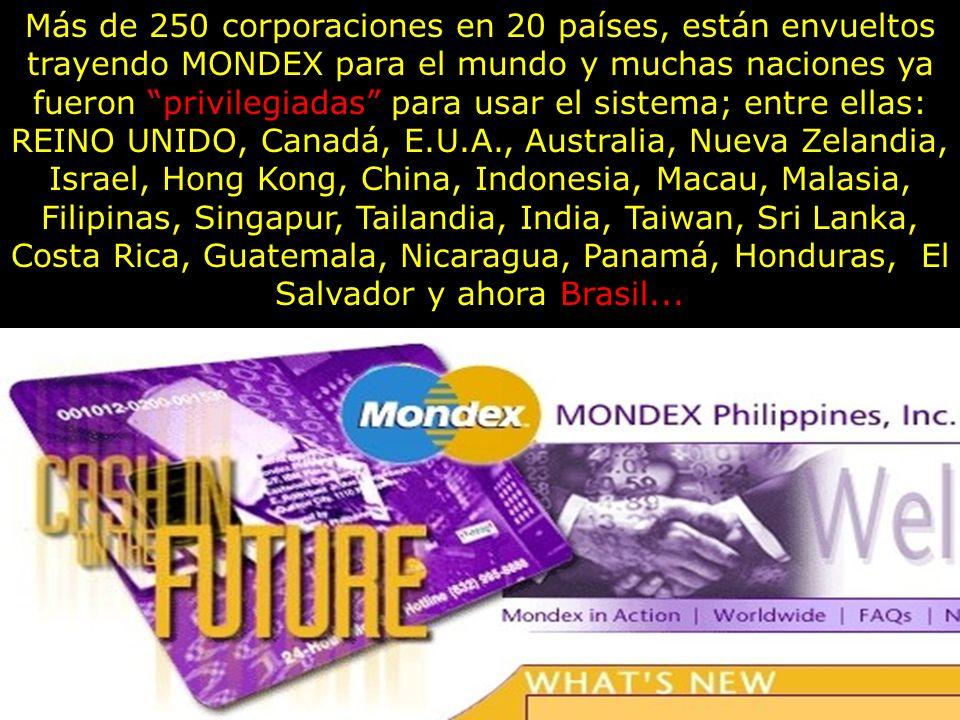 Mondex MEMORICE ESTE NOMBRE Y SU MARCA: