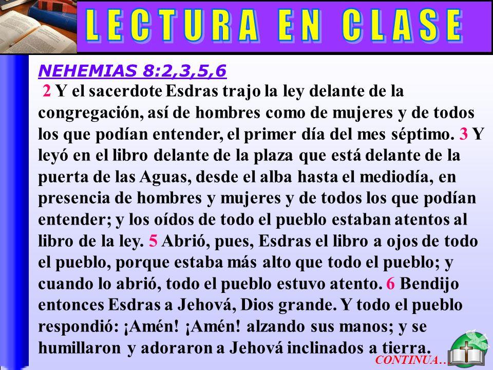 Lectura En Clase B 1 El día veinticuatro del mismo mes se reunieron los hijos de Israel en ayuno, y con cilicio y tierra sobre sí.