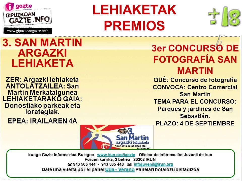 LEHIAKETAK PREMIOS 3.