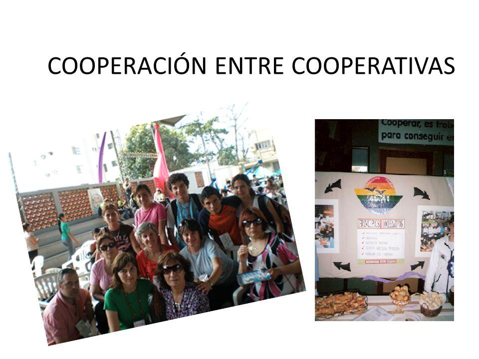COOPERACIÓN ENTRE COOPERATIVAS