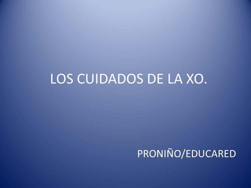 LOS CUIDADOS DE LA XO. PRONIÑO/EDUCARED