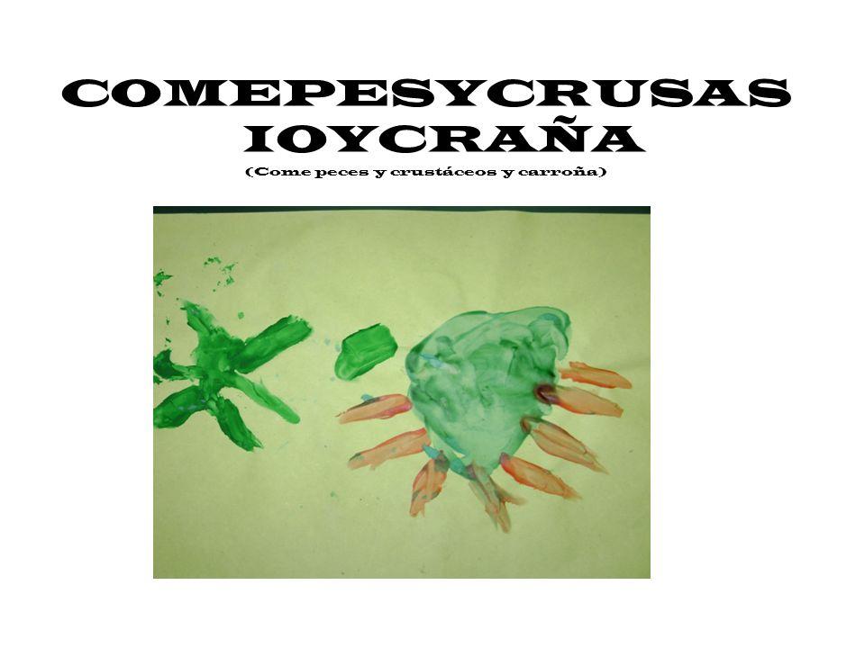 COMEPESYCRUSAS IOYCRAÑA (Come peces y crustáceos y carroña)