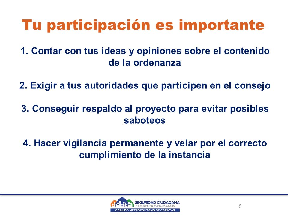 8 Tu participación es importante 1.