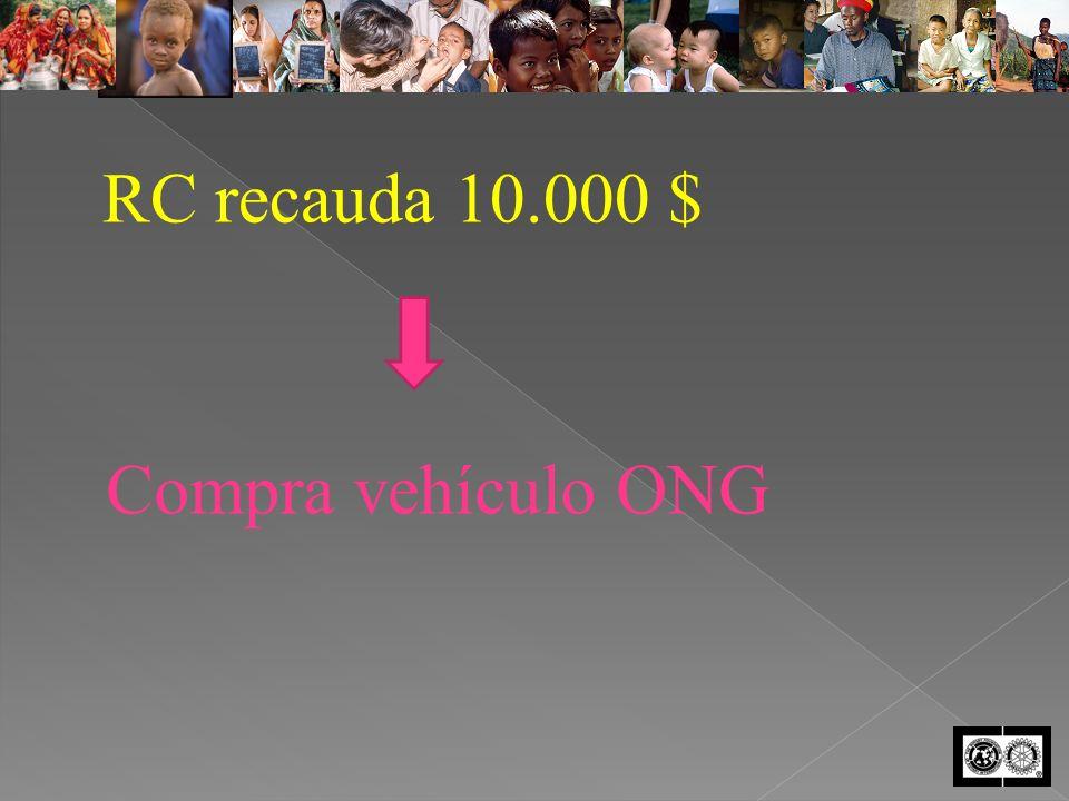 RC recauda 10.000 $ Compra vehículo ONG