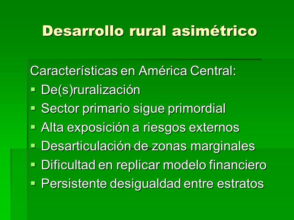 Solidez de sistema: conceptos Seis ejes de evolución: 1.ENTORNO 1.ENTORNO 2.EXTENSION 2.EXTENSION 3.ESCALA 3.ESCALA 4.ESTRUCTURA 4.ESTRUCTURA 5.ESTIMULOS EXT.S 5.ESTIMULOS EXT.S 6.EFECTOS INCREMENTALES 6.EFECTOS INCREMENTALES Puntos de atención: Mercados, marco legal Socios, misión, servicios Crecimiento, contracción Gobernabilidad, género Asistencia, dependencia Capital productivo, social y humano