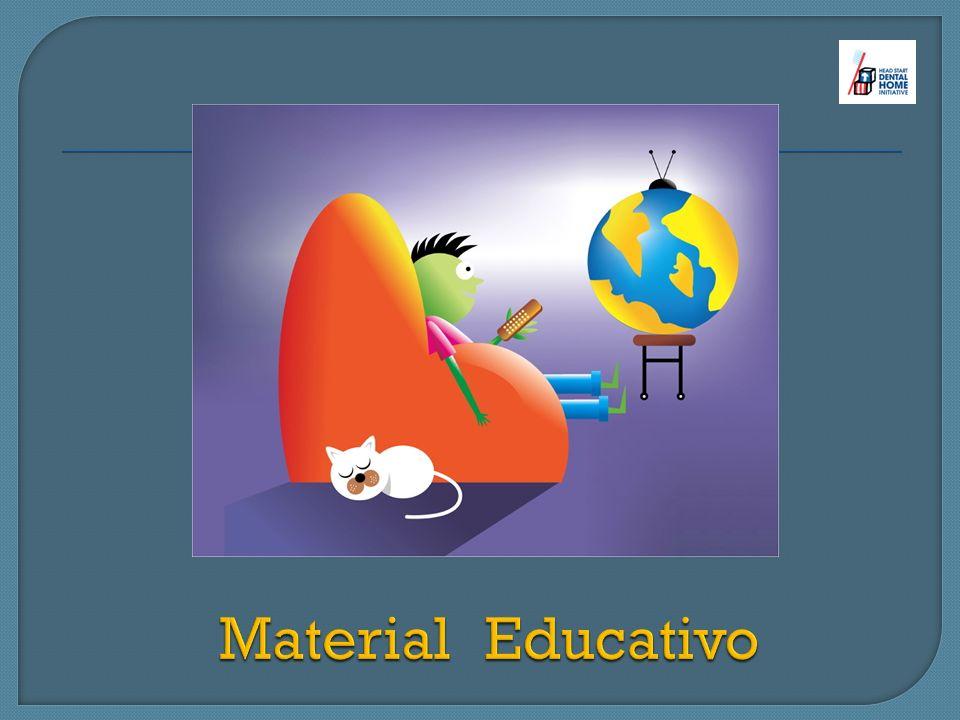 Hoja de Referido Afiches (posters) Kit de salud oral DVDs educativos