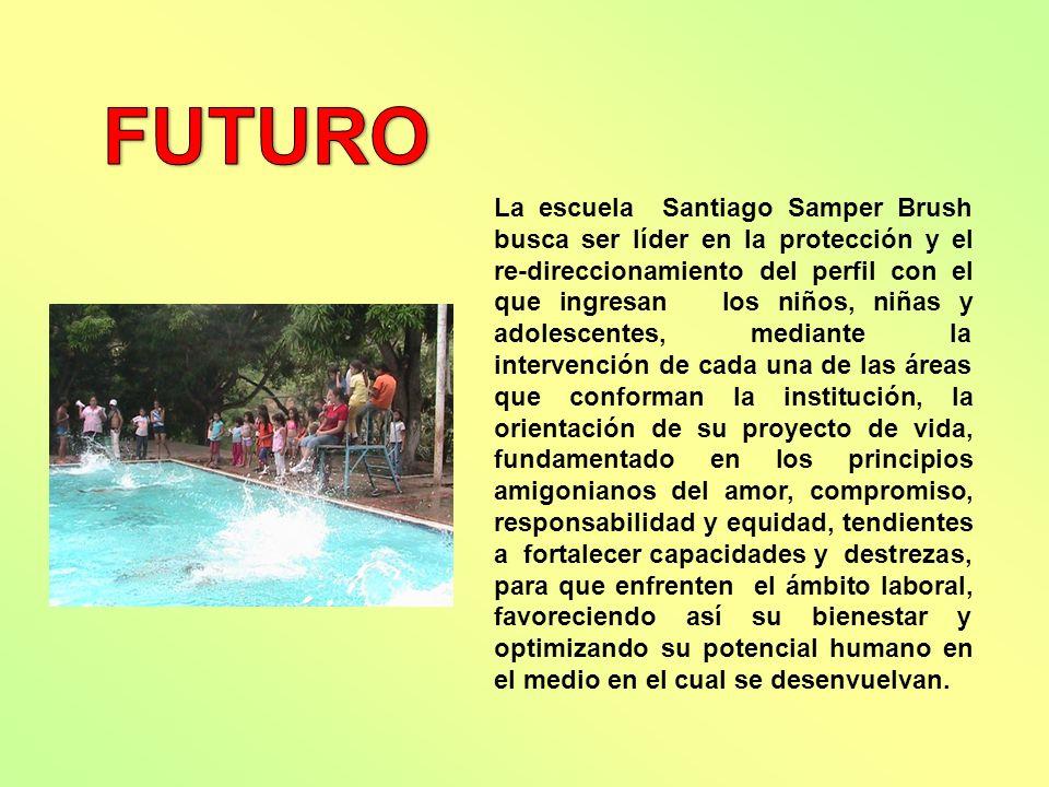 La escuela Santiago Samper Brush busca ser líder en la protección y el re-direccionamiento del perfil con el que ingresan los niños, niñas y adolescen