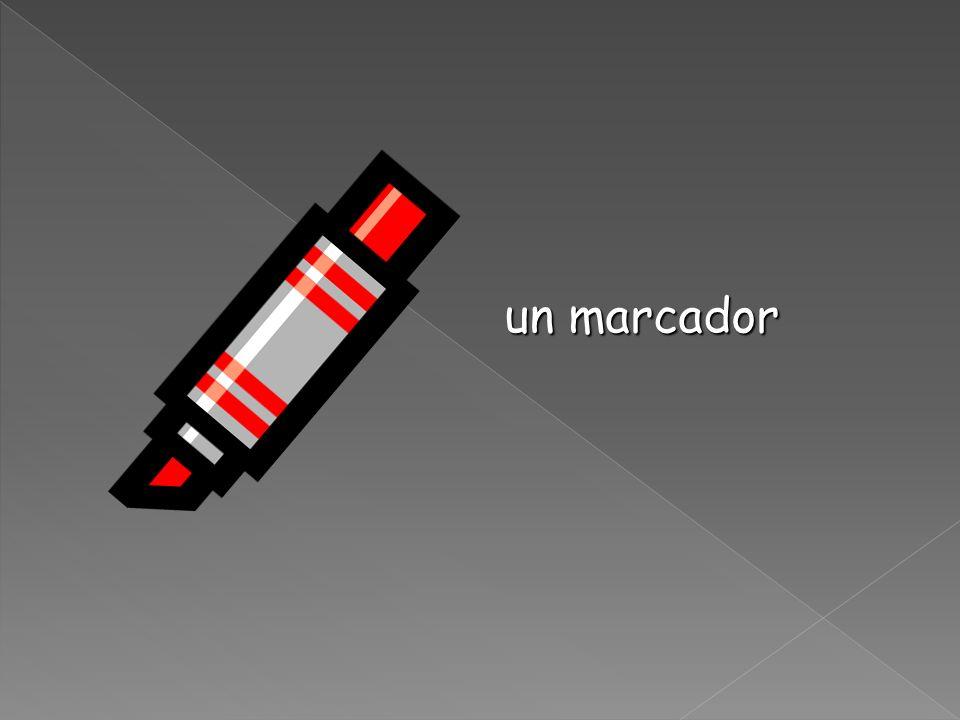 un marcador