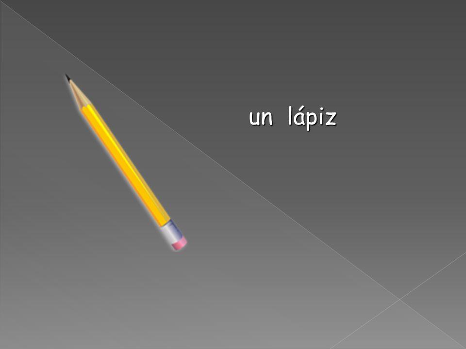 Una carpeta (a folder or binder)