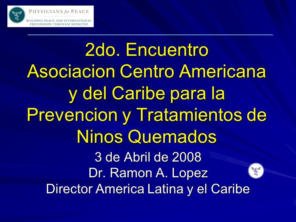 ____________________________________________________________ Nos esforzamos en mejorar continuamente la calidad de la educacion y el tratamiento para victimas pediatricas con quemaduras, tambien como, promover la concientizacion sobre la prevencion de quemaduras a traves de Centro America y el Caribe Mision