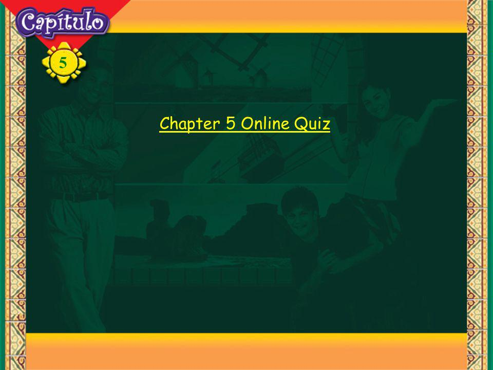 5 Chapter 5 Online Quiz
