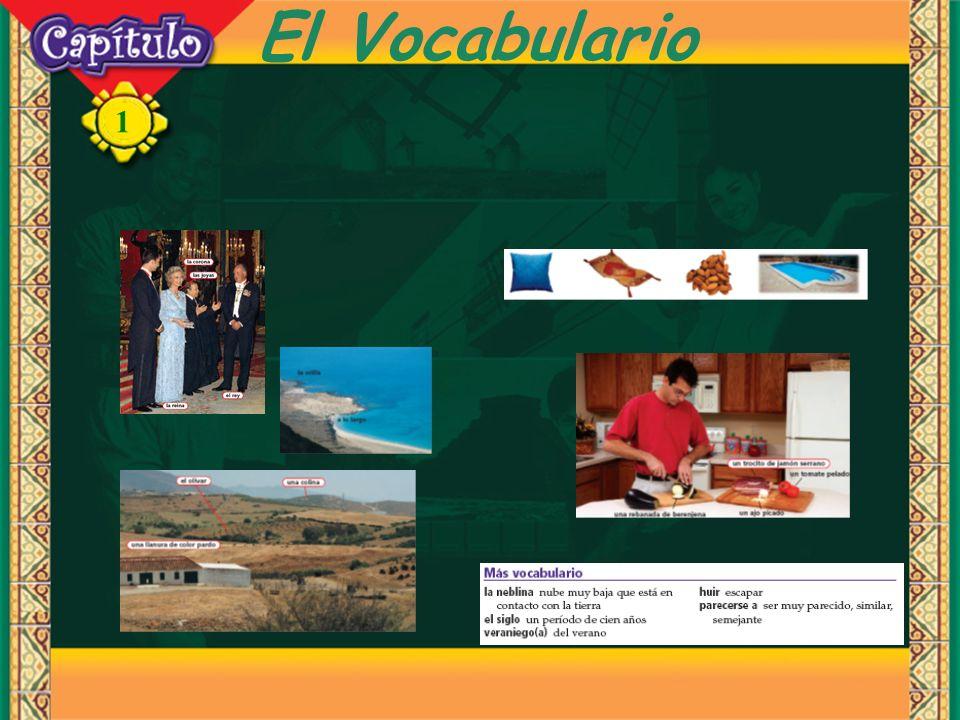 1 El Vocabulario