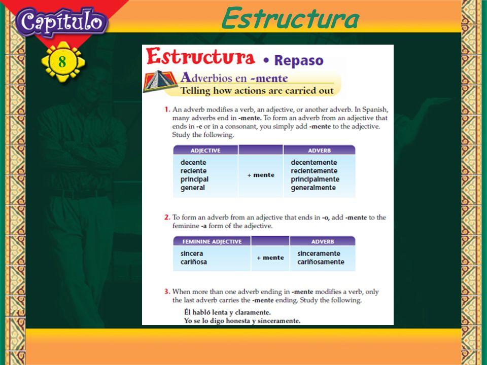 8 Estructura